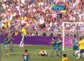 奥运视频-达米奥跃起头球稍高出 巴西VS墨西哥