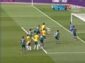 奥运视频-席尔瓦抢后点铲射高出 巴西VS墨西哥