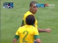 奥运视频-巴西落后爆内讧 拉斐尔与胡安起争执