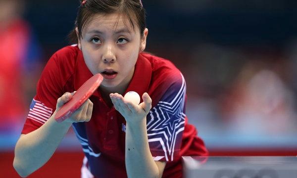 奥运美女邢延华:美国华裔乒乓球运动员 搜狐体育