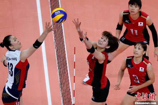 日韩:女排和男足两次铜牌战 各有胜负不同反应