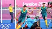 奥运图:澳大利亚男曲队获铜牌 球员德耶尔