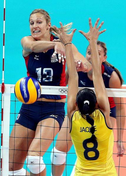 奥运图:女排决赛巴西夺冠 空挡