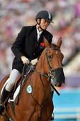 奥运图:现代五项中国创历史摘银 中国选手
