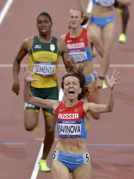 伦敦奥运会足球冠军_奥运图:女子800米俄罗斯夺金 塞门娅屈居亚军-搜狐体育