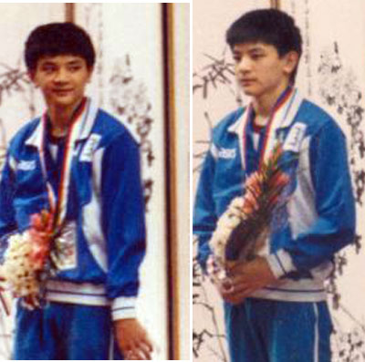 1988年汉城奥运会 熊倪图片