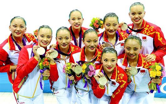 湖北日报讯 图为:中国队选手在比赛中。 新华社发