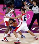 奥运图:美国女篮实现五连冠 遭遇