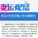 奥运观察:奥运200金欣喜之余仍藏隐忧