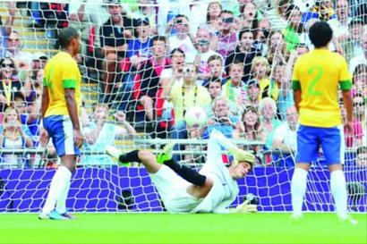 糟糕的防守让巴西男足在奥运会上再次错失登顶机会