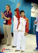 奥运图:男子十米台美国夺金 邱波林跃出场