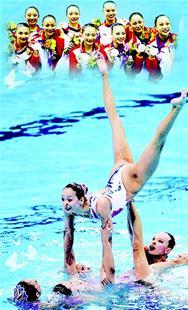"""楚天金报讯 昨日,中国军团""""迎来""""首个""""无金日""""。唯一的奖牌是花样游泳队团体决赛银牌,亦是该项目奥运最好成绩。"""