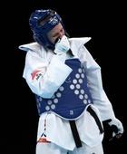 奥运图:跆拳道女子67公斤以上级 铜牌争夺战