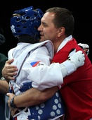 奥运图:跆拳道女子67公斤以上级 巴雷什尼科娃