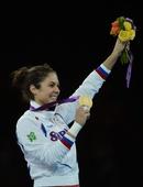 奥运图:跆拳道女子67公斤以上级 曼迪奇夺冠