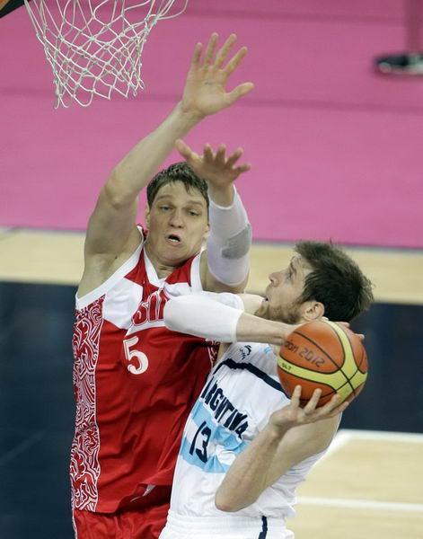 奥运图:俄罗斯险胜获铜牌 诺西奥尼强攻