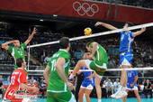 奥运图:意大利男排获得铜牌 抢先出手