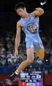 奥运图:男跤66公斤级日本夺冠 激动跳跃