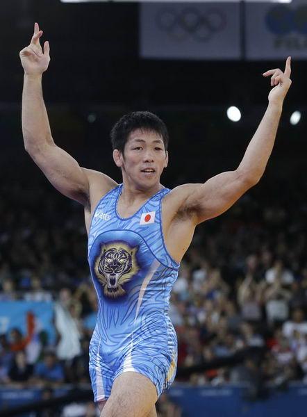 奥运图:男跤66公斤级日本夺冠 我是第一