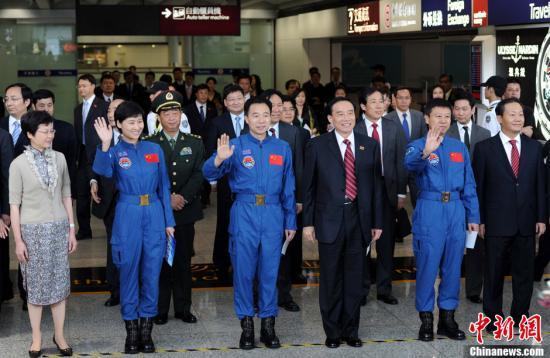 景海鹏愿三入太空 新航天员选拔将向港人开放
