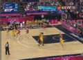 奥运视频-劳伦外线虚晃跳投 澳大利亚VS俄罗斯