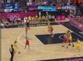 奥运视频-劳伦轻松远投命中 澳大利亚VS俄罗斯