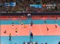 奥运视频-杰奎琳巧打变线得手 女排巴西VS美国