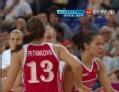 奥运视频-安娜接妙传三分球 澳大利亚VS俄罗斯