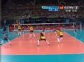 奥运视频-哈尔莫托直击挂空挡 女排美国VS巴西