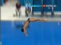 奥运视频-戴利向内翻腾状态恢复 小贝现身助威