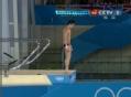 奥运视频-林跃优美反身抱膝翻腾 跳水10米台赛