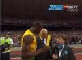 奥运视频-闪电欲收藏接力棒 裁判拒绝飞人请求
