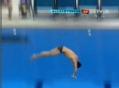 奥运视频-林跃出现失误移居第五 跳水10米台赛