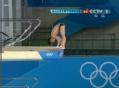 奥运视频-林跃反身转体动作稳健 跳水10米台赛