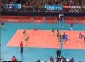 奥运视频-萨瓦尼网前扣杀 保加利亚双人拦网出界