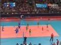 奥运视频-菲伊接二传重扣空挡得手 男排铜牌赛