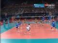 奥运视频-阿列克西耶夫扣杀后场 男排铜牌赛