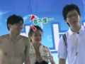 《向上吧!少年-成长秀片花》20120812 游泳接力赛郭家屹藐视隋佶辰泳姿