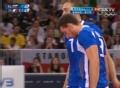 奥运视频-意大利队1传到位4点进攻 男排铜牌赛