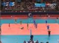 奥运视频-萨瓦尼机智轻发球得分 男排铜牌赛