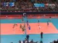 奥运视频-尼科洛夫快攻 比拉雷利单人拦网成功