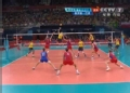 奥运视频-安德雷斯吊球得分 男排巴西VS俄罗斯