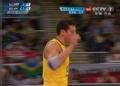 奥运视频-桑托斯网前大力扣杀 巴西VS俄罗斯