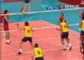 奥运视频-布特克网前垫球过网 巴西VS俄罗斯