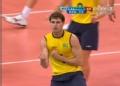 奥运视频-布鲁诺扣杀得分怒吼 巴西VS俄罗斯