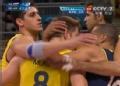 奥运视频-安德雷斯前排拦网得分 巴西VS俄罗斯