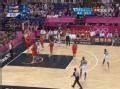 奥运视频-杜兰特负角度命中 男篮美国VS西班牙