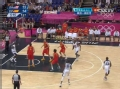奥运视频-安东尼送弧顶三分 男篮美国VS西班牙