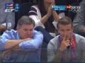 奥运视频-小贝现身男篮决赛看台 美国VS西班牙