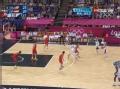 奥运视频-德隆三分应声入网 男篮美国VS西班牙